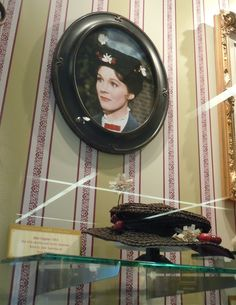 Mary Poppins hat worn by Julie Andrews