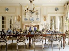 beautiful kitchens with chandeliers | Old Empire style crystal chandelier, antique brass wall sconces and ...