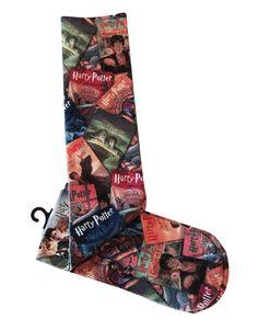 Harry Potter Sublimated All Over Print Knee High Socks New Licensed