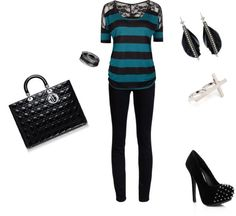 """""""Girls Night Out"""" by mamarass on Polyvore"""