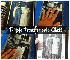 Photo Transfer onto Glass - Do Small Things with Love