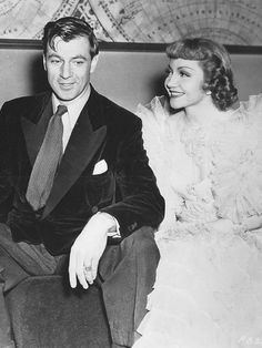 BLUEBEARD'S EIGHTH WIFE (1938) - Gary Cooper & Claudette Colbert - Directed by Ernst Lubitsch - Paramount.
