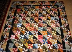 So Many Quilts, So Little Time! I already have pinwheels - half square triangles and this one can be complete