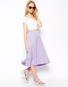 ASOS Full Midi Skirt