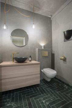 Grey Vanity Unit, Vanity Units, Cement Walls, The Tile Shop, Duravit, Wall And Floor Tiles, Basin, Living Spaces, Flooring