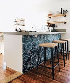 Supreme Kitchen Remodeling Choosing Your New Kitchen Countertops Ideas. Mind Blowing Kitchen Remodeling Choosing Your New Kitchen Countertops Ideas. Home Decor Kitchen, Living Room Kitchen, Home, Kitchen Remodel, Kitchen Decor, Kitchen Seating, Home Kitchens, Kitchen Renovation, Kitchen Design