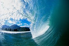 """""""A perfect wave at Pine Trees surf spot in Hanalei bay on the north shore of Kauai, Hawaii"""" ~ www.aaronchang.com"""