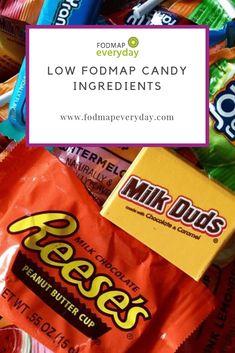 bowl of low fodmap candy Fodmap Dessert Recipe, Fodmap Recipes, Sans Fructose, Fodmap Diet Plan, Low Fodmap Foods, Fodmap List, Dieta Fodmap, Fructose Malabsorption, Food Map