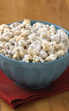 A sweet and savory snack that's easy to share: Peanut Butter Popcorn Munch! For more FASTastic recipes and savings, visit: bit.ly/1QnFW1Q