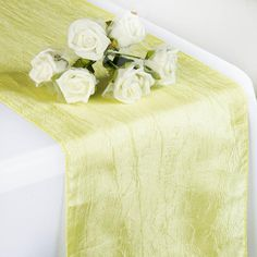 Celebrate your special day with Tablecloths Factory's elegant Taffeta Table Runners, Table Covers, Table Overlays and more. Transform any dull table into a stylish banquet table with our Crinkle Taffeta Table Runners. Spring Wedding Decorations, Thanksgiving Decorations, Luau Bridal Shower, Table Overlays, Floral Tablecloth, Rainbow Wedding, Banquet Tables, For Your Party, Unicorn Party