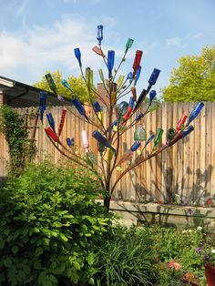 The history of bottle trees is pretty interesting.