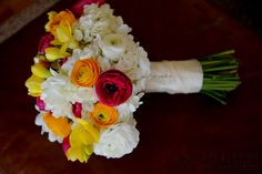WEDDING LOVE! Bright Spring Bouquet by San Diego Wholesale Flowers