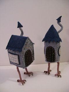 Baba Yaga's Chicken Leg House by MelissaSue on Etsy, $70.00