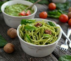 Gotuj z Cukiereczkiem: Pesto ze szpinaku
