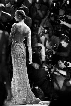 Fashion Week. Karlie Kloss. Photographers