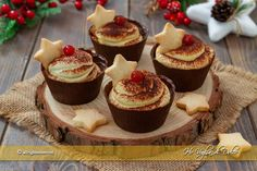 Finger Food Desserts, Mini Desserts, Finger Foods, Ricotta, Diet Cheesecake Recipe, Nutella, Appetizer Recipes, Dessert Recipes, Sweets