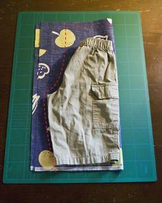 faire un pantalon taille elastique sans patron - Le plaisir du partage
