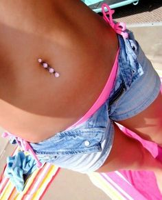 120 Belly Button Piercing Examples, Jewelry And FAQ's cool  Check more at http://fabulousdesign.net/belly-button-piercing/