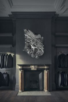 Art Piece by Aldo Chaparro in the Gieves & Hawkes UK Flagship