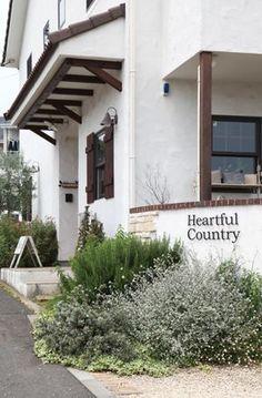 目隠し塗り壁 / 植栽 / ナチュラルガーデン / ガーデンデザイン / 外構 Garden Design / Plastered wall / Plants