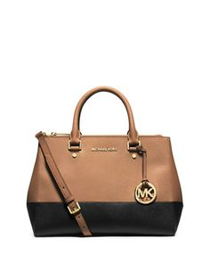 211938ed3e MICHAEL Michael Kors Sutton Medium Satchel Bag