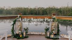 Looking for a romantic outdoor wedding venue in Orlando? Look no further than the Lake Austin Pier. The brand new gazebo boasts panoramic views of our resort and serene Lake Austin.