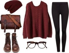 Fall/spring/winter fashions with sweaters