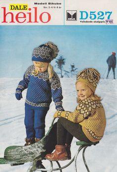 Dale Bikube 527 Norwegian Knitting, Baby Barn, Baby Knits, North Sea, Baby Knitting, Knitting Patterns, Kids Outfits, Crochet Hats, Children