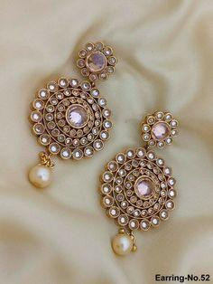 Indian Jewelry Earrings, Indian Jewelry Sets, Silver Jewellery Indian, Jewelry Design Earrings, Necklace Designs, Wedding Jewelry, India Jewelry, Diamond Jewelry, Wedding Rings