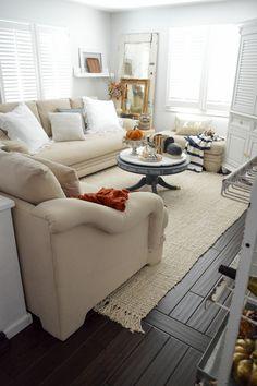 Easy Fall Decorating Ideas - Autumn Cottage Home Tour