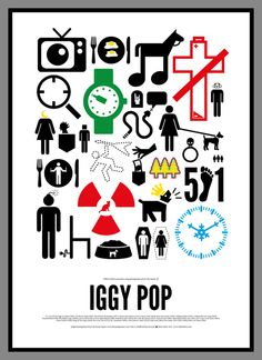 Singers' Lives in Pictograms [Creative+Art]
