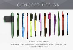 Concept design | Penclip Type-B by Ron and Thea — Kickstarter
