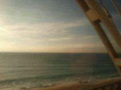 A nice trip by train. Barcelona Mataró