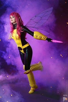 Character: Pixie (Megan Gwynn) / From: MARVEL Comics 'X-Men' / Cosplayer: Irina Ushenina (aka Rei-Doll) / Photography: Kifir Marvel Cosplay Girls, Superhero Cosplay, X Men Costumes, Cosplay Costumes, Cosplay Ideas, Male Cosplay, Best Cosplay, Awesome Cosplay, Anime Comics
