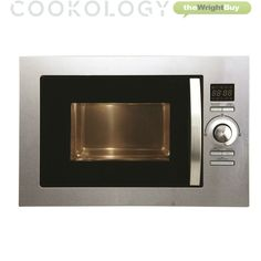 Cookology Stainless Steel Built-in Combi Microwave Oven & Grill Integrated 25L · $159.99 Stainless Steel Types, Stainless Steel Material, Built In Microwave Oven, Combination Microwave, Silver Room, Digital Timer, Electric Fan, Oven Range