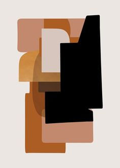 poster collection for Ferm Living Painting Inspiration, Art Inspo, Modern Art, Contemporary Art, Illustrations, Illustration Art, Art Premier, Color Stories, Grafik Design