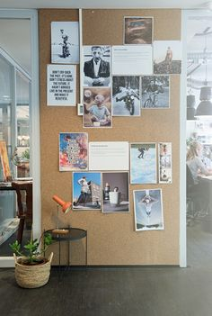 Kurk muur Inspiration wall @ office Interior by MEUTT.nl