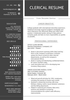 To get the job, you a need a great resume. The professionally-written, free resume examples below can help give you the inspiration you need to build an impressive resume of your own that impresses… Resume Advice, Resume Writing Tips, Job Resume, Career Advice, Writing Guide, Sample Resume, Resume Ideas, Career Path, Modern Resume Template