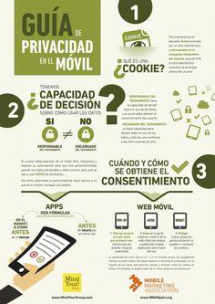 Guía de privacidad en el móvil #infografia #infographic