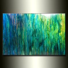 Accessories For Sale | Original Abstract painting Contemporary modern Fine Art by Henry Parsinia Large 36x24( THIS ITEM IS SOLD BUT SIMILAR ... -Home and Garden Design Ideas