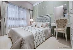 中華帝標_現代風設計個案—100裝潢網 Furniture, Decor, Home Decor, Bed