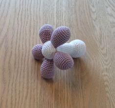Opskrift på hæklet blomst
