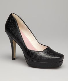 Take a look at the Bellini Black Palm Bay Pump on #zulily today! Love them!!!