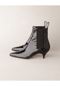 Eartha kitten heel leather boots only $276 if only!! oh well