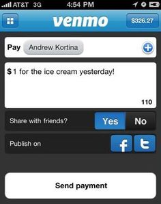 Venmo offers Android and iPhone apps which connect you with other users to send money for free. It's fast; cash goes out to any bank overnight.
