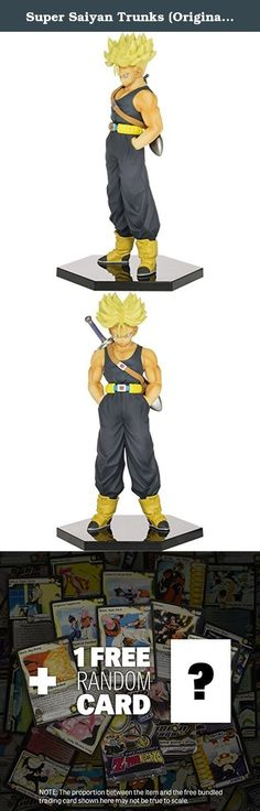 """Super Saiyan Trunks (Original Color): ~5.9"""" DragonBall Z 'Chozoushu' The Figure Collection + 1 FREE Official DragonBall Trading Card Bundle (363753). This sculpture is part of the DragonBall Super 'Chozoushu' The Figure Collection from Banpresto! Banpresto creates this series and aims to create a collection of product that is made of super quality figures. In addition, the sculptor of each figure in this series are all artists who have years of experience in creating DragonBall figures --..."""