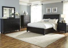 Hamilton III Bedroom Set with Storage Bed
