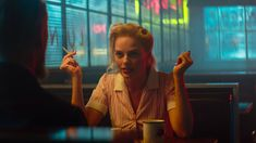 """Margot Robbie is our new favorite femme fatale in the trailer for """"Terminal"""" Margot Robbie Movies, Cinematic Lighting, Ariana Grande Music Videos, Cinematic Photography, Love You Very Much, Film Stills, Series Movies, Harley Quinn, Fangirl"""