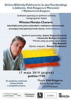 Winston Morales Chavarro Kolumbijski Pisarz I Poeta Z