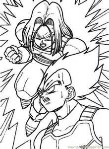 Printable Coloring Pages dragon ball z - (3)